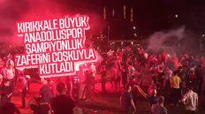 Kırıkkale Büyük Anadolu Spor, 3. Lig Zaferini Coşkuyla Kutladı