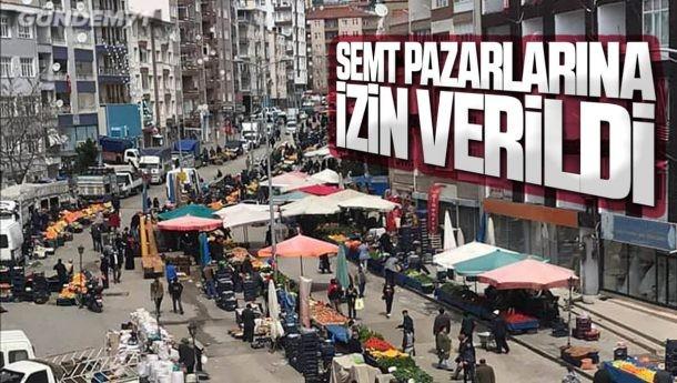 Kırıkkale'de Semt Pazarları Açıldı