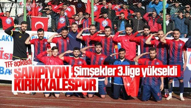 TFF Açıkladı; Kırıkkalespor 3.Ligde