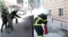 Tepebaşı Mahallesi'nde Trafoda Çıkan Yangın Söndürüldü
