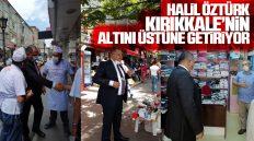 Kırıkkale Sevdalısı Halil Öztürk, Kırıkkale'nin Altını Üstüne Getiriyor