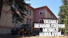 Huzur Köy Projesi Kapsamında Yataklı Rehabilitasyon Merkezi Kuruluyor