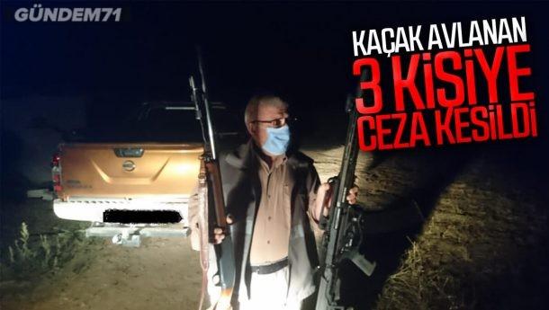 Kırıkkale'de Kaçak Avlanan 3 Kişiye Para Cezası Uygulandı