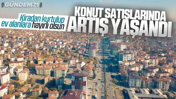 Kırıkkale'de Konut Satışları Temmuzda Arttı