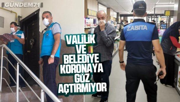 Kırıkkale'de Koronavirüs Denetimleri Aralıksız Olarak Devam Ediyor