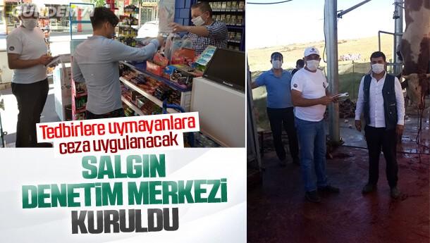 Kırıkkale'de Salgın Denetim Merkezi kuruldu