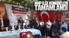 MHP Kırıkkale İlçe Kongreleri Tamamlandı