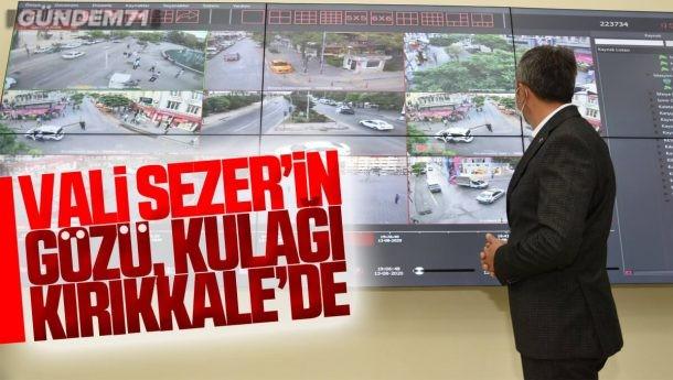 Vali Sezer'in Gözü Kulağı Kırıkkale'de