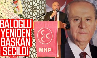 MHP Kırıkkale İl Başkanı Erdal Baloğlu Güven Tazeledi