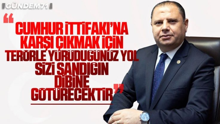 Halil Öztürk'ten CHP ve HDP Açıklaması