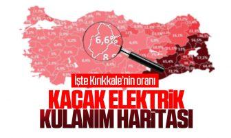 Türkiye'nin Kaçak Elektrik Haritası! İşte Kırıkkale'nin Oranı
