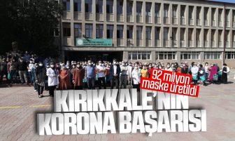Kırıkkale'de Covid-19 Salgınında 92 Milyon Maske Üretildi
