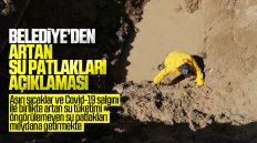 Kırıkkale Belediyesi'nden Artan Su Patlakları Hakkında Açıklama