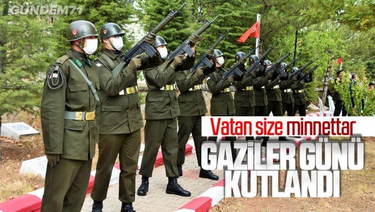 Kırıkkale'de 'Gaziler Günü' Törenle Kutlandı