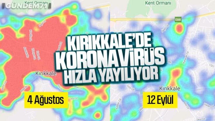 Kırıkkale Koronavirüs Haritası: Geçtiğimiz Aydan Bugüne Son Durum