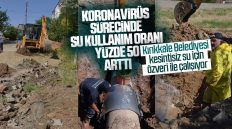 Kırıkkale'de Koronavirüs Sürecinde Su Kullanımı Yüzde 50 Arttı