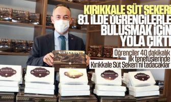 Kırıkkale Süt Şekeri 81 İlde 81 Okulda Öğrencilerle Buluşacak