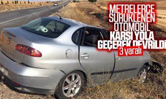 Trafik Kazası: 3 Kişi Yaralandı