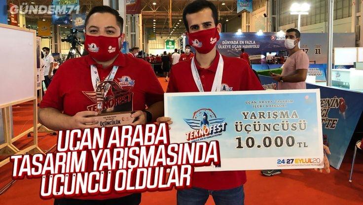 Kırıkkale Üniversitesi'nden Teknofest'te Başarı