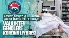 Kırıkkale Valiliği'nden Gençlere Koronavirüs Uyarısı