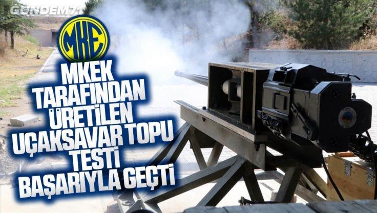 TSK'nın Muharebe ve Mücadele Yeteneklerini Artıracak 25 mm'lik Top Test Atışlarını Başarıyla Geçti