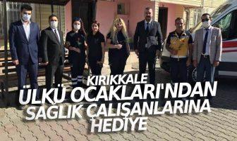 Kırıkkale Ülkü Ocakları'ndan Sağlık Çalışanlarına Hediye