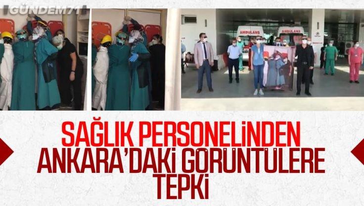 Türk Sağlık Sen Kırıkkale Şubesinden Ankara'daki Skandal Olaya Tepki