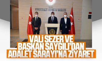 Vali Sezer ve Başkan Saygılı Kırıkkale Adalet Sarayı'nı Ziyaret Etti