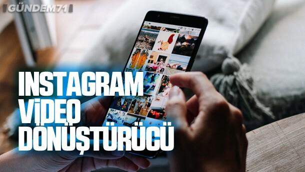 Instagram Video Dönüştürücü