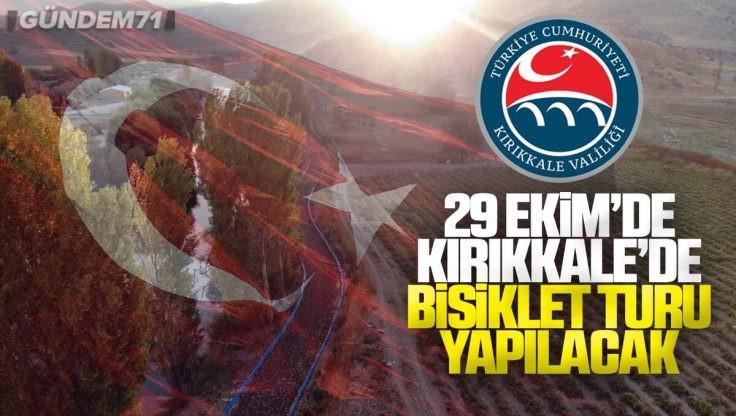 Kırıkkale Valiliği'nden 29 Ekim Cumhuriyet Bayramı Bisiklet Turu Etkinliği