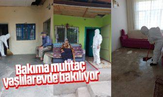 Kırıkkale'de Bakıma Muhtaç 280 Kişinin Evi Temizlendi