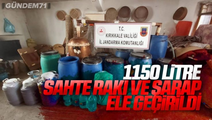Sulakyurt'ta Sahte İçki Operasyonu
