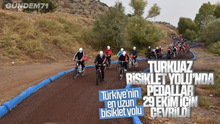Kırıkkale'de 29 Ekim Cumhuriyet Bayramı Bisiklet Turu Düzenlendi