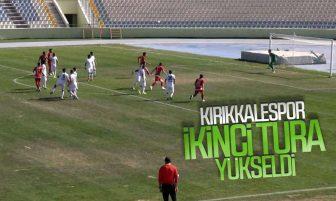 Kırıkkale Büyük Anadadoluspor, Gölcükspor'u 2-1 Yendi