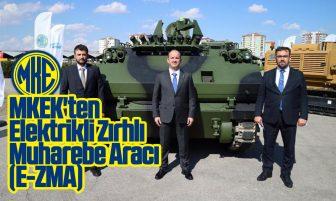 MKEK'ten Elektrikli Zırhlı Muharebe Aracı (E-ZMA)