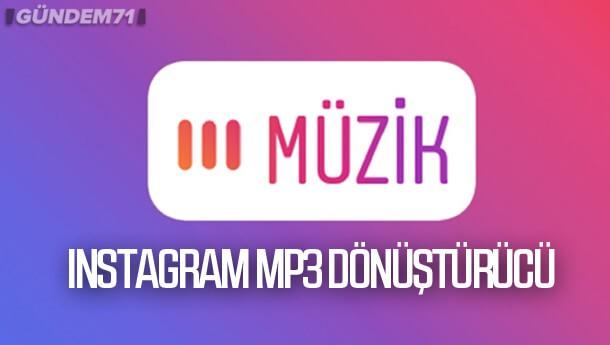 Mp3 Dönüştürücü Instagram