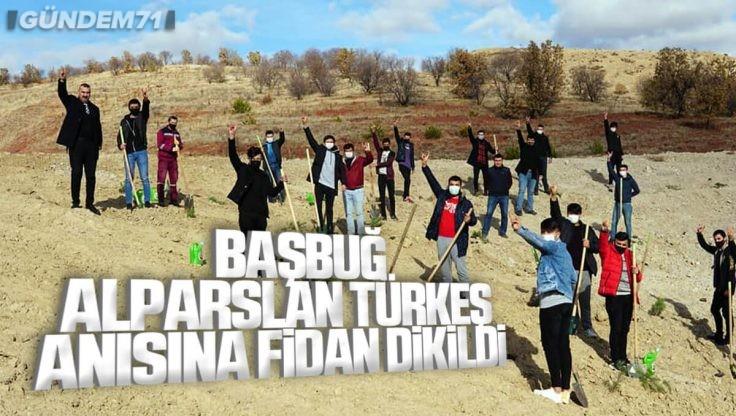 Kırıkkale Ülkü Ocakları Tarafından Alparslan Türkeş Anısına Fidan Dikildi