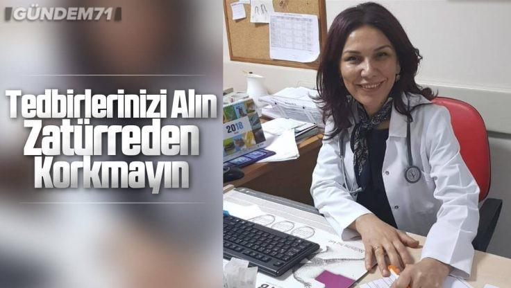 Dr. Selma Demir, 12 Kasım Dünya Zatürre Günü Nedeniyle Açıklama Yaptı