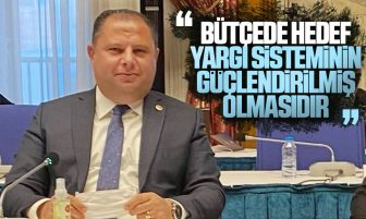 Halil Öztürk, Adalet Bakanlığı 2021 Bütçesi Üzerine Konuşma Yaptı
