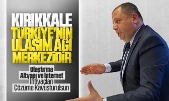 Halil Öztürk, Kırıkkale'nin Ulaştırma, Altyapı ve İnternet İhtiyaçlarının Çözüme Kavuşturulmasını Talep Etti