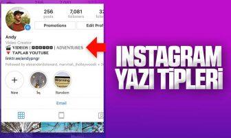Instagram Yazı Tipleri