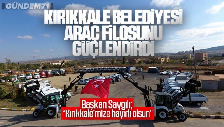 Kırıkkale Belediyesi Araç Filosunu Güçlendirdi