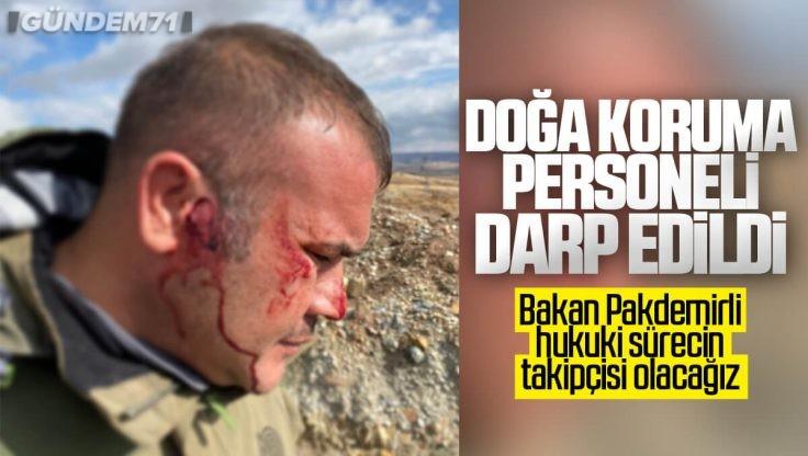 Kırıkkale'de Doğa Koruma Personeli Darp Edildi