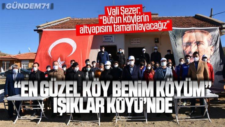 """""""En Güzel Köy Benim Köyüm"""" Projesi Bu Hafta Işıklar Köyü'nde Devam Etti"""