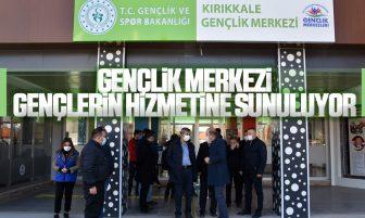 Kırıkkale Gençlik Merkezi Açılışa Hazırlanıyor
