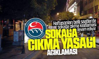 Kırıkkale Valiliği Sokağa Çıkma Kısıtlaması Hakkında Açıklama Yaptı