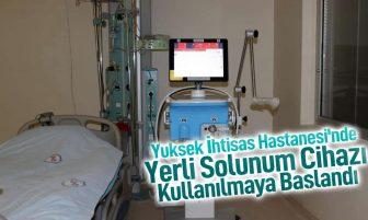 Kırıkkale Yüksek İhtisas Hastanesi'ne 10 Adet Yerli Üretim Solunum Cihazı Alındı