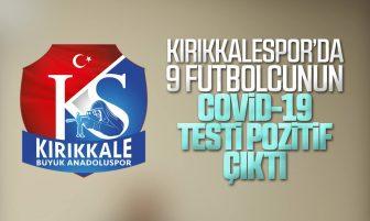 Kırıkkale Büyü Anadoluspor'da 9 Futbolcunun Koronavirüs Testi Pozitif Çıktı