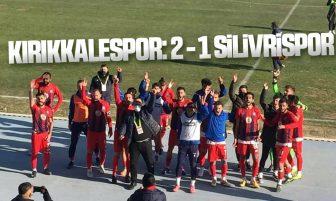 Kırıkkale Büyük Anadoluspor, Silivrispor'u 2-1 Yendi