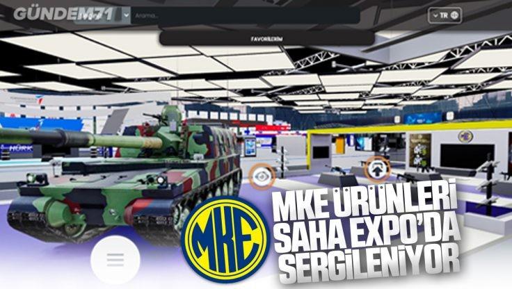 MKEK Ürünleri SAHA EXPO Sanal Fuarında Sergileniyor